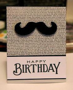 New Birthday Greetings Male Cards 47 Ideas Birthday Cards For Boys, Masculine Birthday Cards, Bday Cards, Handmade Birthday Cards, Man Birthday, Masculine Cards, Happy Birthday Cards, Birthday Greetings, Birthday Design