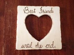 Best+Friends+Picture+Frame+by+CreativeCraftsbyCC+on+Etsy,+$18.00