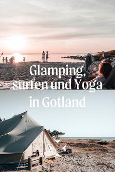 Urlaub mit deinen Freunden in Schweden — Ihr kommt in der Unterkunft am Strand an, das Feuer brennt und die Surfbretter stehen für euch bereit. Klingt das nach deinem Geschmack? Dann ist ein Besuch in der Surflodge an der Westküste Gotlands genau das richtige für dich.