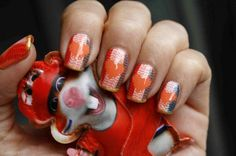 iOnTrend nail art WK voetbal World Cup Soccer Brasil 2014
