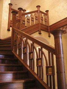 Деревянные лестницы, изготовление и монтаж лестниц, ступени и поручни из дерева