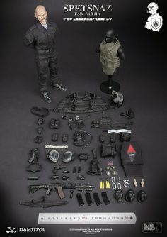 toyhaven: Incoming: DAM toys 1/6 scale Spetsnaz FSB Alpha Group 12-inch Special Operations figure