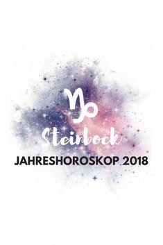 Steinbock Jahreshoroskop 2018