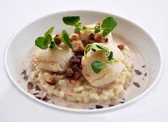 Saint-Jacques, risotto et lait de marron : le repas de fête revisité par Mes dernières lubies