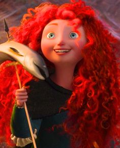 Merida you can't even understand how much I want that insane red hair