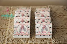 Kızılderili tema doğum günü hediyeliği taş magnetler, indian party, stone