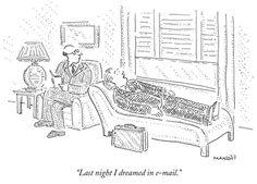 A comic thinking cap: New Yorker cartoon editor Robert Mankoff says the magazine's humor likes to 'look inward' | MLive.com