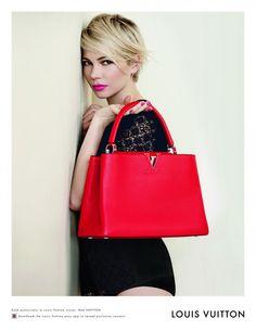 Michell2e-Williams-Spring-2014-Louis-Vuitton-Handbag-Campaign