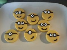 Chocolate cover oreos, for minion madness party!