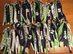 Custom Team Hair Ties, Sport Hair Ribbons, Sport Accessories, Personalized Hair…