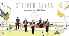 CLIP MUSICAL INTERACTIF This is an interactive music video experience for the song Stained Glass by Real Estate.