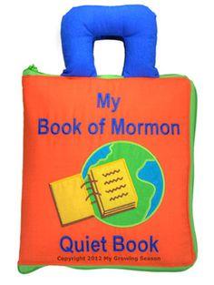 My Book of Mormon Quiet Book $39