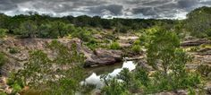 Article lists the scenic State Parks of Texas. Pictured is Inks Lake State Park (Burnet)