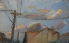 murwillumbah sky  Painting by Phil Barron