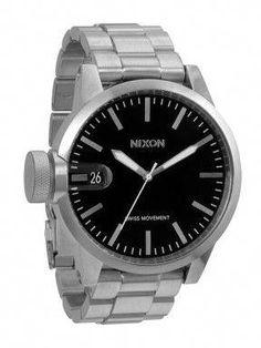 67a4acb1bde Nixon Chronicle SS Black Relógio Masculino  whatheusesnow