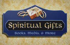 Spiritual Gifts Retail Sign | Danthonia Designs