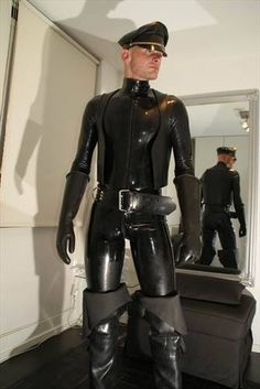 Paris Master into leather, rubber, skinheads. Posting pix of his turn ons and sharing some of his experiences with his in-training Boy M. Rubber Catsuit, Neoprene Rubber, Latex Men, Gay, Suit Shirts, Fashion Night, Black Rubber, Sexy Men, Hot Men