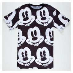 NEFF Disney Collection Mickey Mickey Mens T-Shirt ❤ liked on Polyvore  featuring men s fashion 37ee17ca19cd
