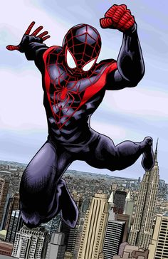 Ultimate Spider-Man Color by *artistjerrybennett on deviantART