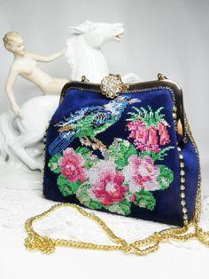 Embroidered Bag Lady by FediyS on Etsy, $160.00