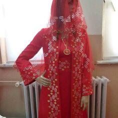 Lüleburgaz sergisinden kına elbisesi