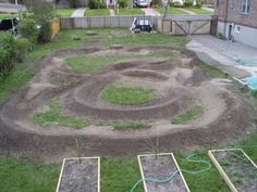 backyard pumptrack