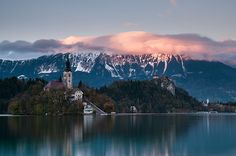 Bled Lake Bled, What A Wonderful World, Wonders Of The World, River, Mountains, Explore, Nature, Outdoor, Outdoors