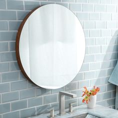 Native Trails Solace Woven Strand Bamboo/Glass 22 Inch Shelf Mirror    Overstock.com Shopping   The Best Deals On Mirrors   Wall Decor Inspo    Pinterest ...