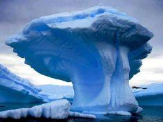 Mushroom Iceberg, Newfoundland