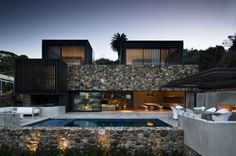 Rock House -Waiheke Island - by Patterson Associates
