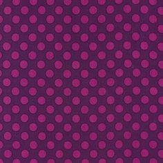 Michael Miller House Designer - Dots - Ta Dot in Jewel  ***Part of Gem Tones Color Story***
