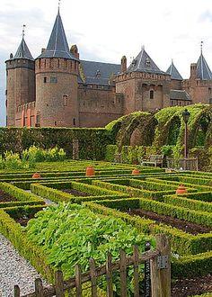 Muiderslot Castle, Amsterdam, by Kenneth Williams