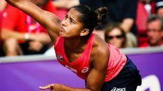 Blog Esportivo do Suiço: Teliana Pereira derrota sul-africana no qualifying em Madri