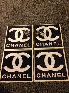 Handmade Chanel INSPIRED Coaster and Jewelry by whistlindixie12, $40.00