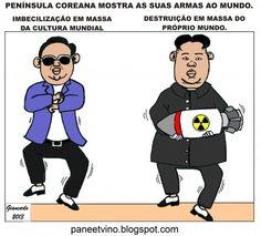 Coreias mostram suas armas ao mundo