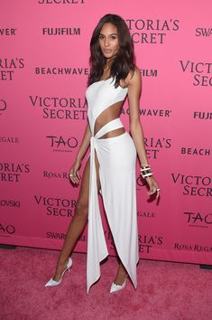 Model Cindy Bruna attends the 2015 Victoria's Secret Fashion After Party at TAO Downtown on November 10, 2015 in New York City.