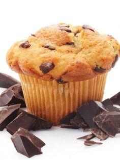 Muffin-con-gocce-di-cioccolato-82160 Brownies, Foodies, Muffin, Breakfast, Cake Brownies, Morning Coffee, Muffins, Cupcakes