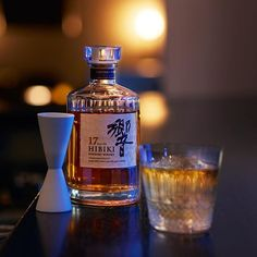 "「響」× 二十四節気<小満の黄昏どきに> Hibiki and the 24 seasons of Japan: Dusk at Shoman(""small bloom"") #hibiki #響 #whisky #suntory #二十四節気 #24seasons #hibiki_time #小満 #hibiki 17years #響17年 #bar #ontherocks"