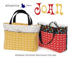 Joan by Fynn & elisanne for Georgette  Pattern is in Dutch and the translated version is a bit tricky to understand, but there are plenty of diagrams. I feel confident that the universal language of handbag love will get me through it.