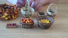 Miniature Fruits & Veggies For Your Fairy House
