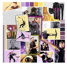 """""We're fighting an army of robots, and I have a bow and arrow."" BOTA Round O5"" by this-girl-on-fire ❤ liked on Polyvore featuring art, clintbarton and jeremyrenner"