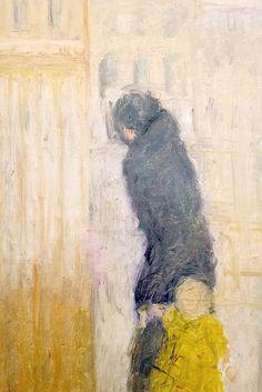 """bofransson:    Jacques Truphemus (né en 1922) """"Lyon 5 - la femme et l'enfant"""", dét. (1982)"""