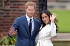 Meghan waved more enthusiastically than Harry but she only said two words during the 90 se...