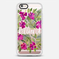 Killin' It – Tropical Pink on Transparent - New Standard Case