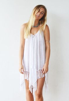 Stevie Dress in White | New The Freedom State available now |