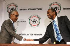 Potential GOP presidential hopeful Ben Carson clarifies his gay marriage, race stances at National Action Network ~ Sanctified Church Revolution