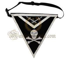 Masonic Knight Temple Apron Grand Lodge, Knights Templar, Temple, Aprons, Skeleton, Skulls, Fashion, Knights Of Templar, Moda