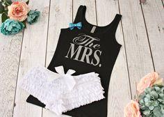 The Mrs Lingerie Set. Honeymoon. Bridal Shower. by TheSassyBride