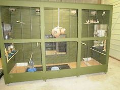 Homemade Canary Cages | Finch Aviary Breeding Bird Cage Pic #18