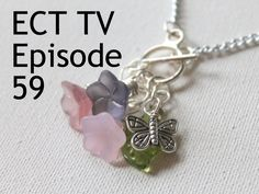 ECT TV Episode Front Clasp Springtime Necklace [+new side drilled bead tutorial] How To Make Necklaces, Cool Necklaces, Necklace Tutorial, Diy Necklace, Diy Jewelry, Jewelry Making, Jewlery, Tv Episodes, Head Pins